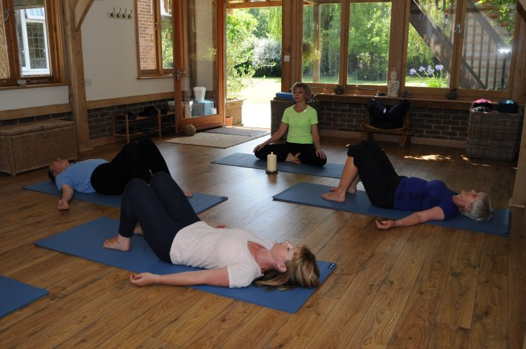 Relaxation & Meditation classes in Normandy, Guildford for health and wellbeing.