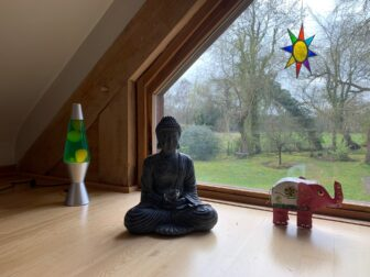 Peaceful Buddha for relaxation and wellbeing Workshops at The Oaks, Guildford