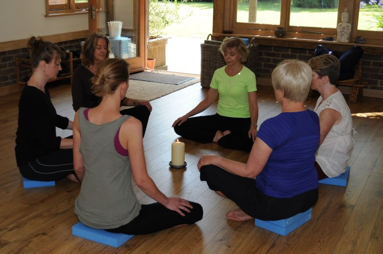 Relaxation and Meditation classes in Guildford, Surrey.