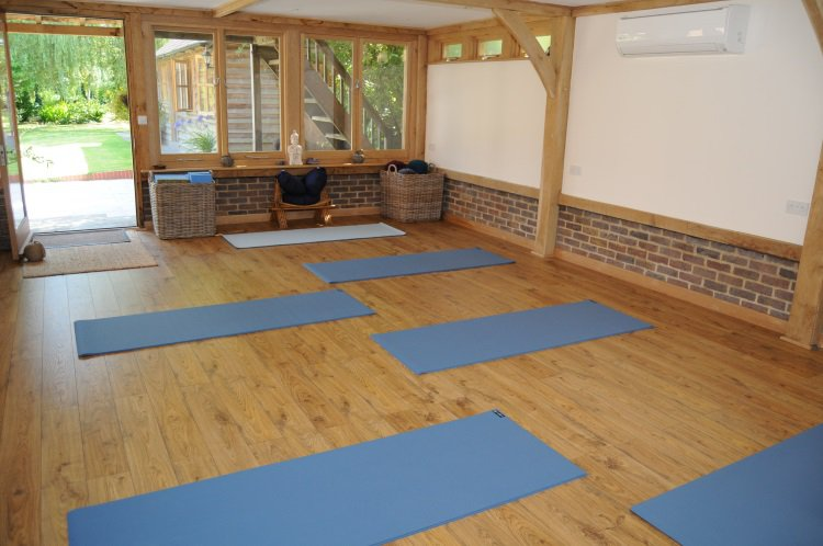 Light and airy yoga studio in Guildford, Yoga at The Oaks